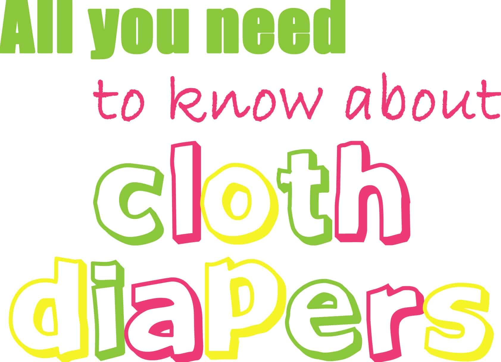 Cloth Diapers www.thepinningmama.com