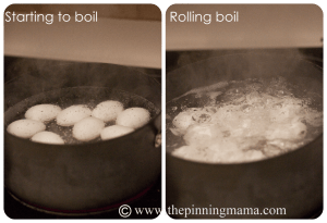 How to make hard boiled eggs