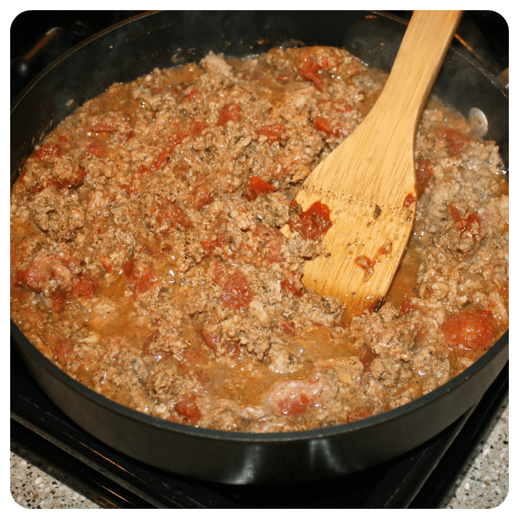 Lo-carb, no noodle lasagna, paleo diet