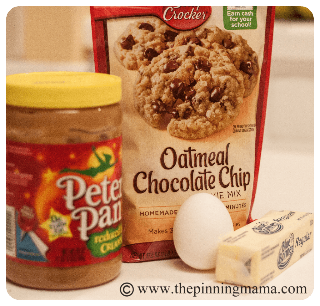 5 Minute Peanut Butter Oatmeal Chocolate Chip Cookies | The ...