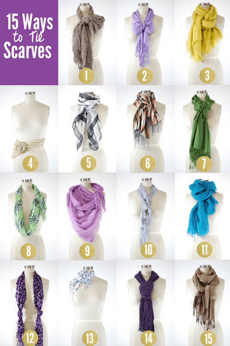 fab finds, fabulous finds, scarves, how to tie