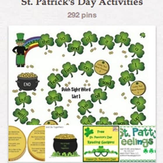 Activities and Crafts for St Patricks Day