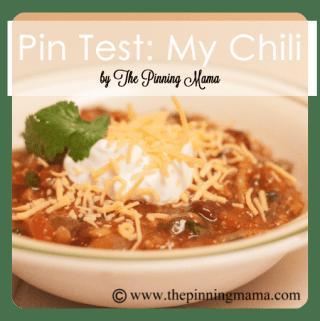 Pin Test: My Chili
