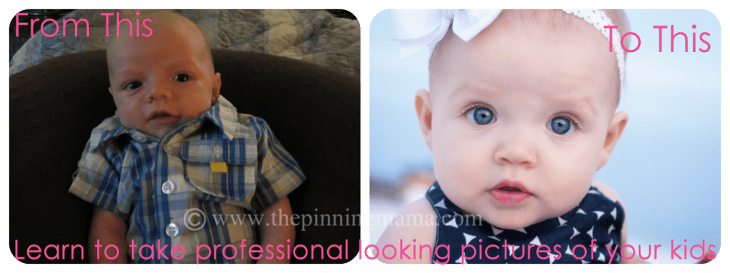 Learn to take professional looking photos of your kids