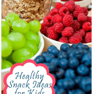 Healthy and Easy Toddler Snacks & Printable