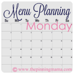 weekly meal planning recipes