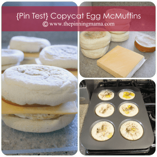 {Pin Test} Copycat Egg McMuffins