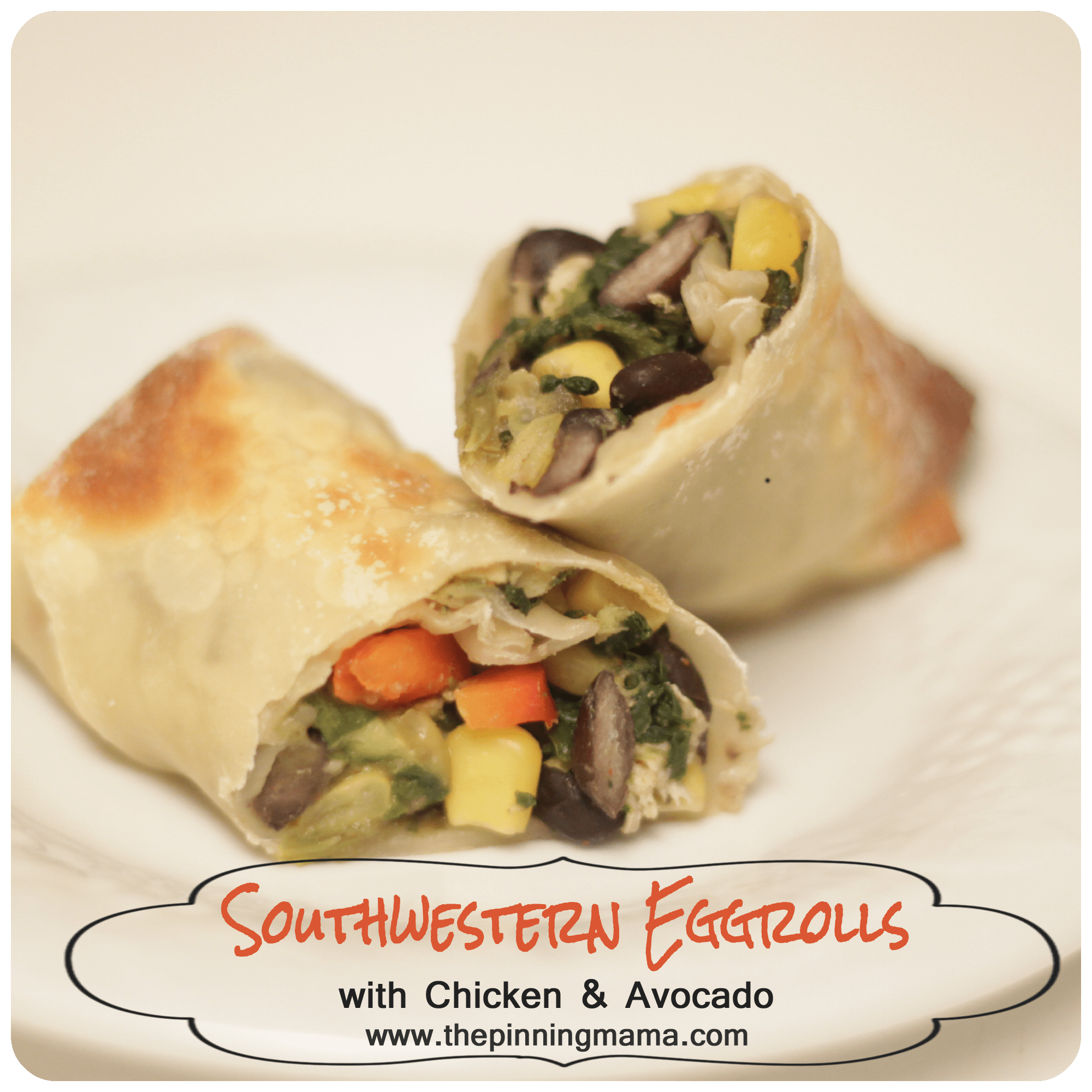 recipe: southwest chicken egg rolls [32]