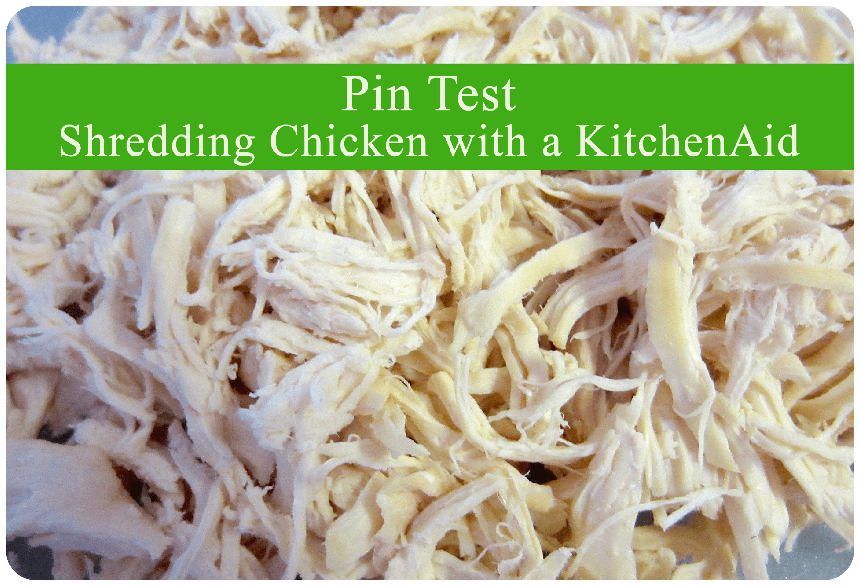 chicken, shredded, kitchenaid, kitchen aid, mixer, easy, delicous