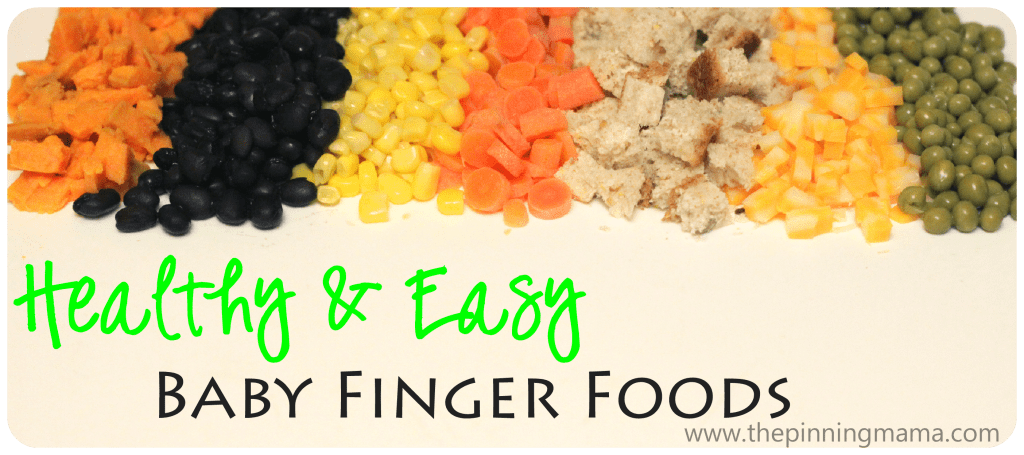 Healthy and easy baby finger foods printable the pinning mama baby led weaning foods forumfinder Images