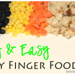 Healthy and Easy Baby Finger Foods & Printable