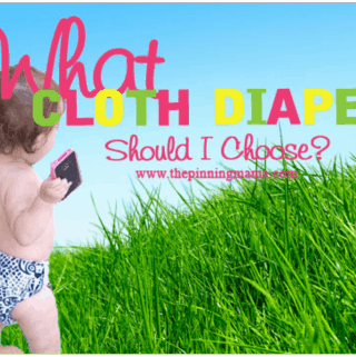 Cloth Diapering 101 {Types of Cloth}