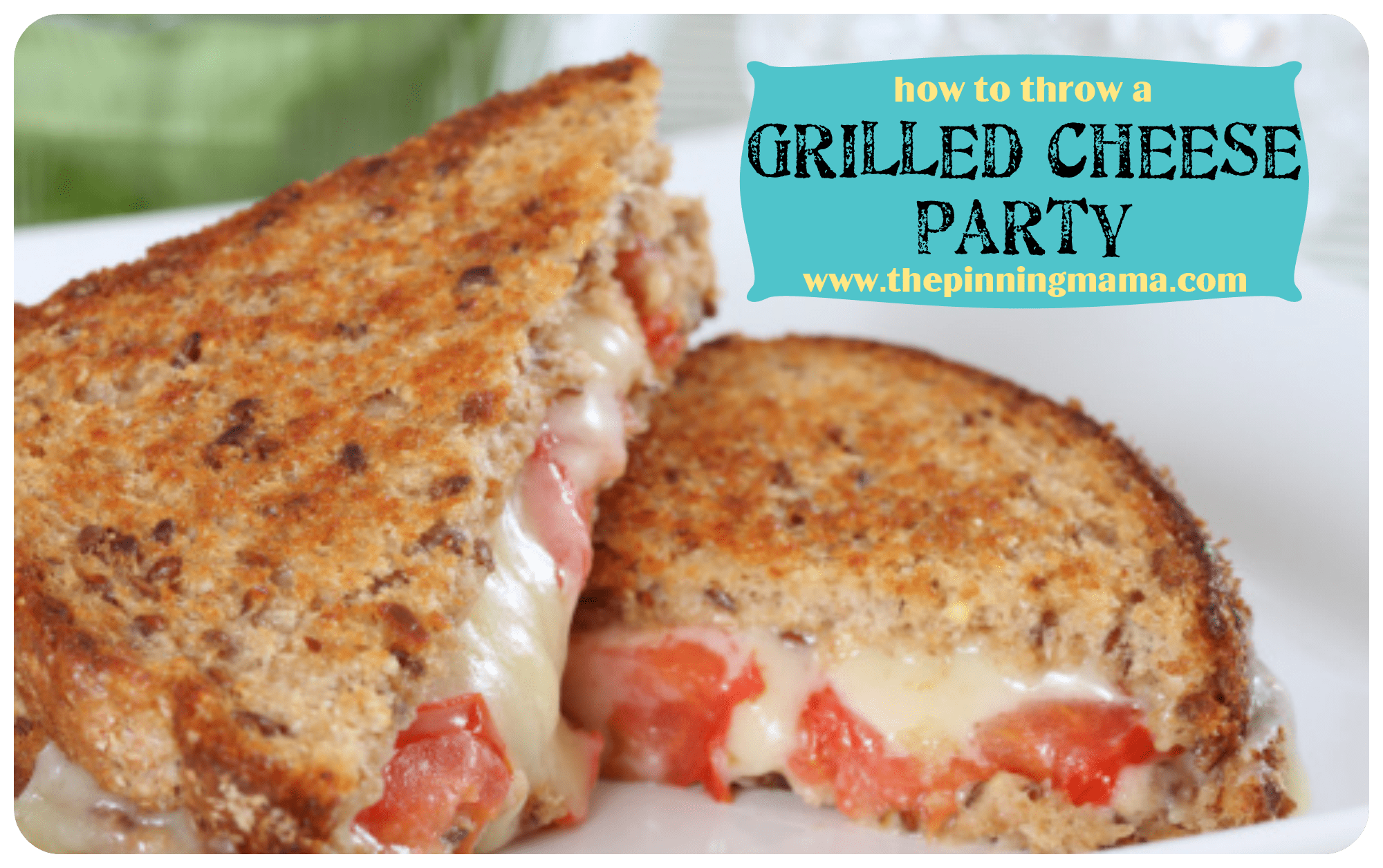Interactive Dinner Party Ideas Part - 17: Grilled Cheese Party, Group Party Ideas, Interactive Dinner, Grilled Cheese  Sandwich, Yummy