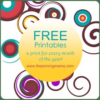 Printables! Freebies! OH MY!