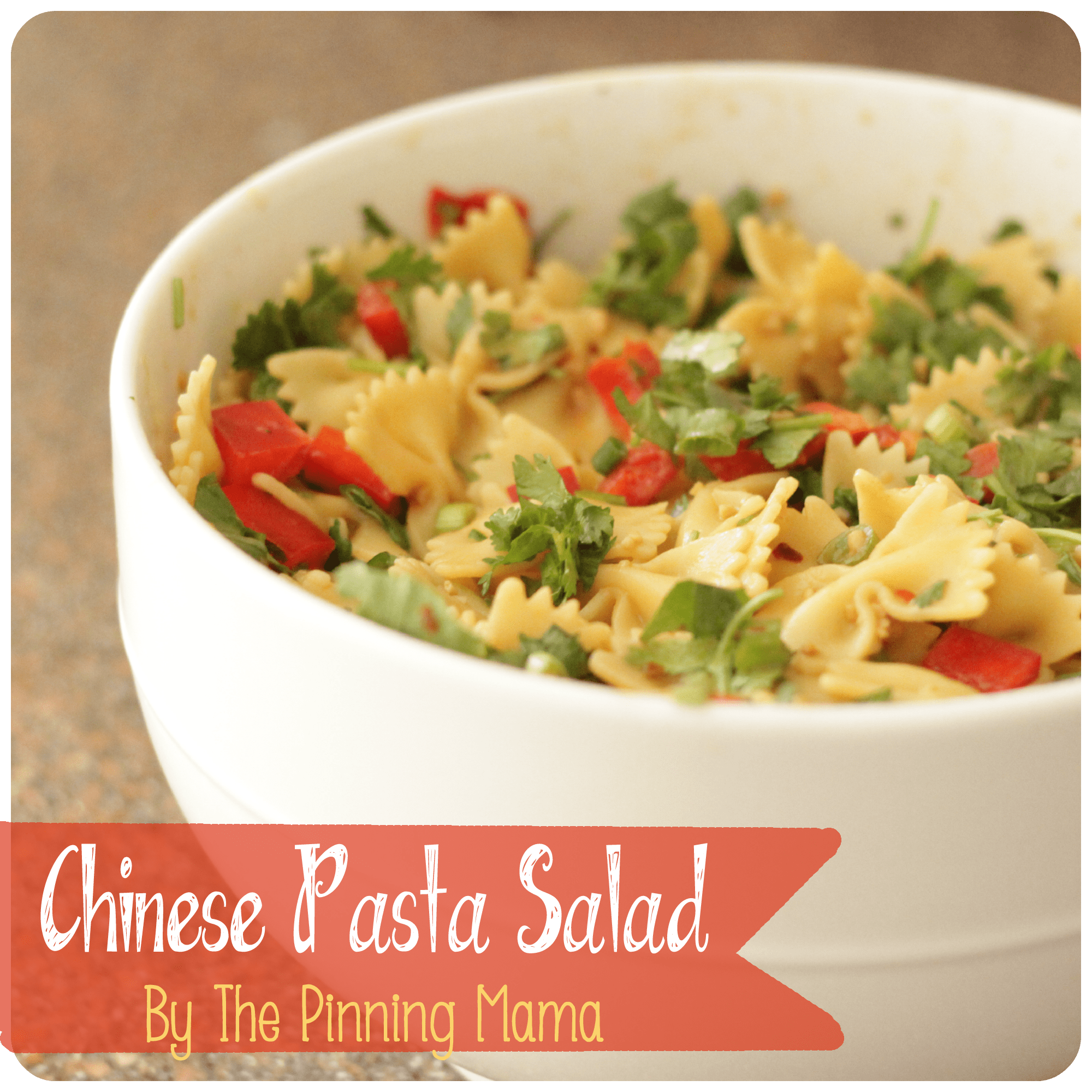 Chinese Pasta Salad By The Pinning Mama