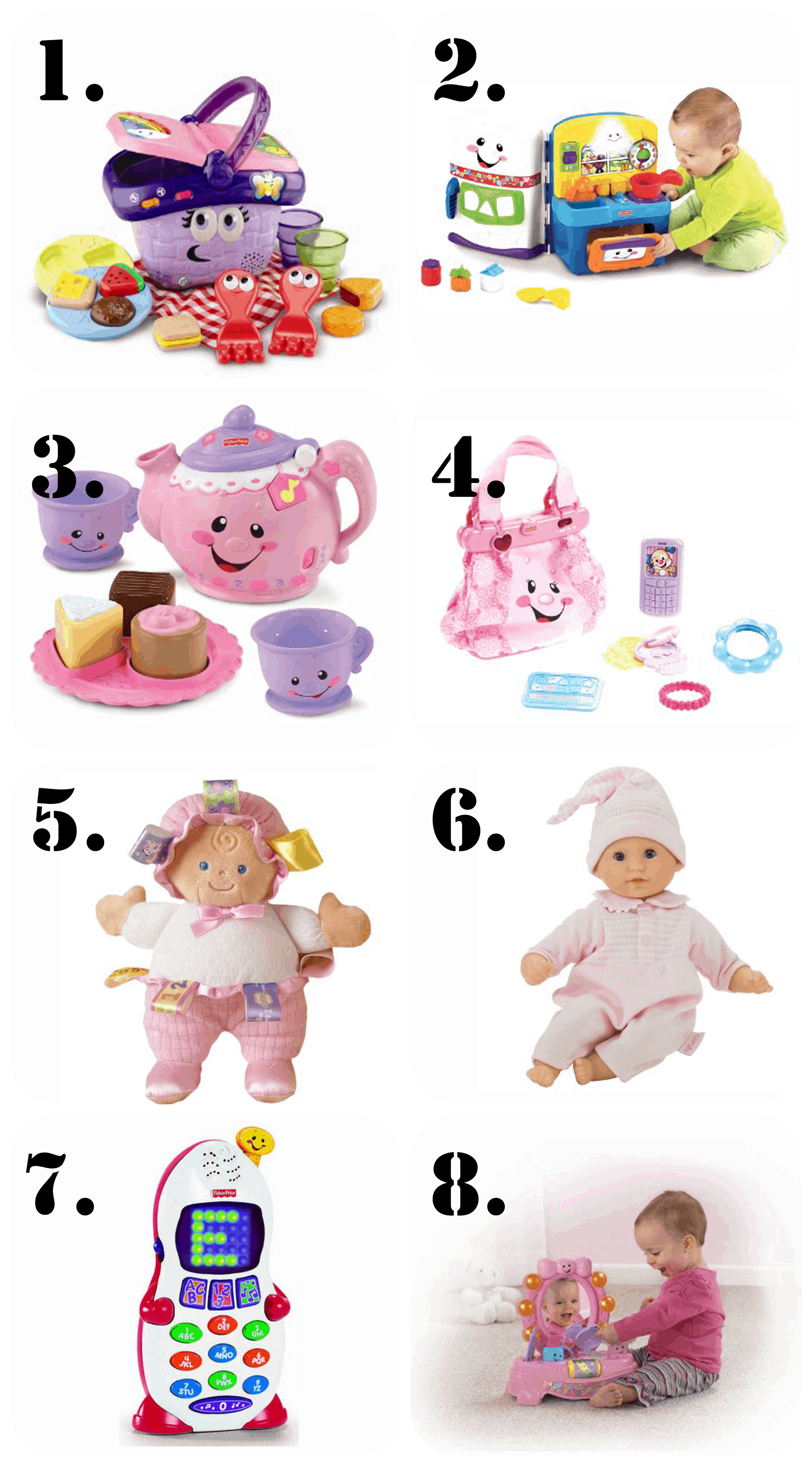 The Ultimate Gift List for a 1 Year Old Girl! • The Pinning Mama