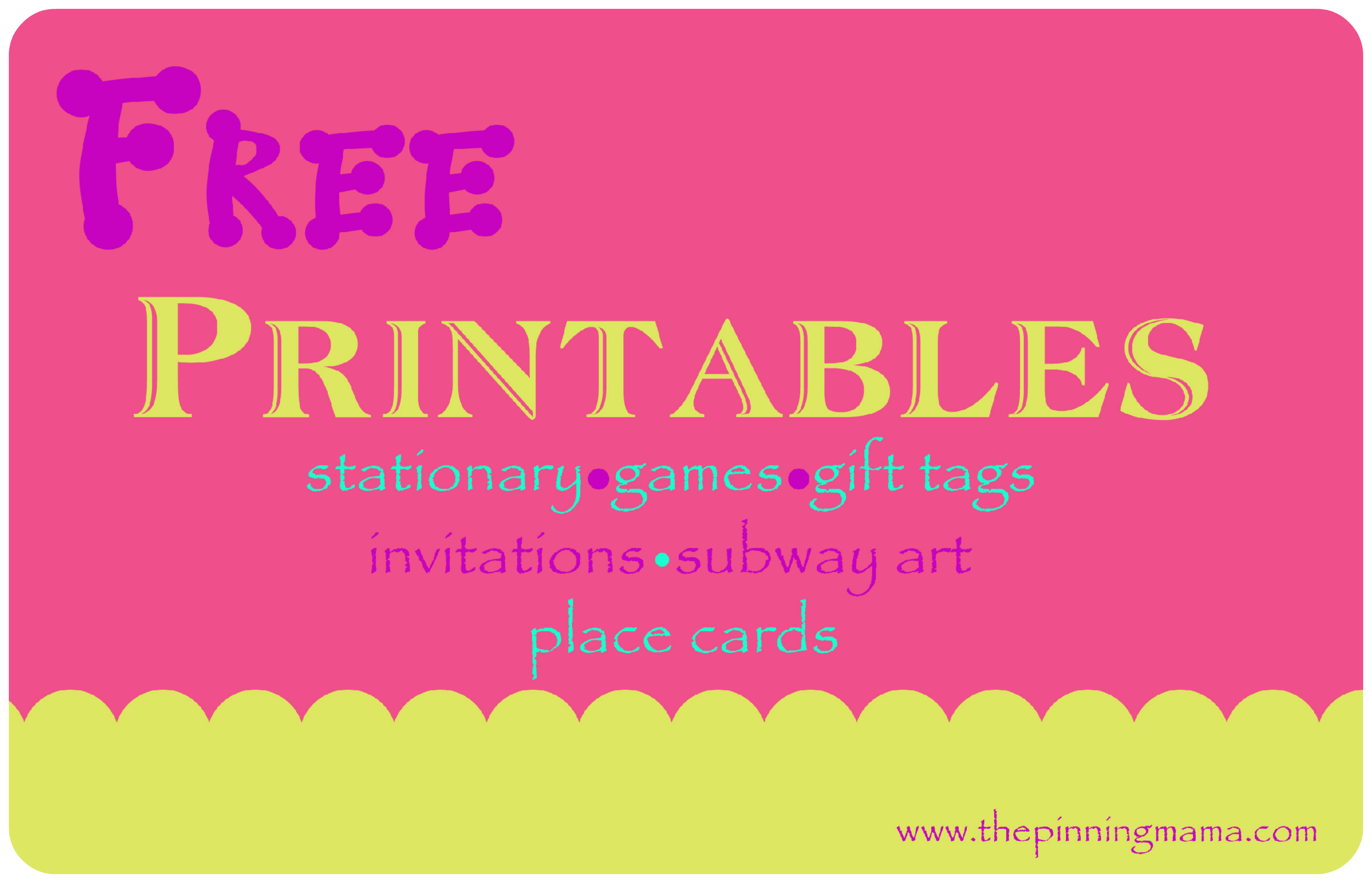 Free Baby Shower, Sip and See Invitation | The Pinning Mama