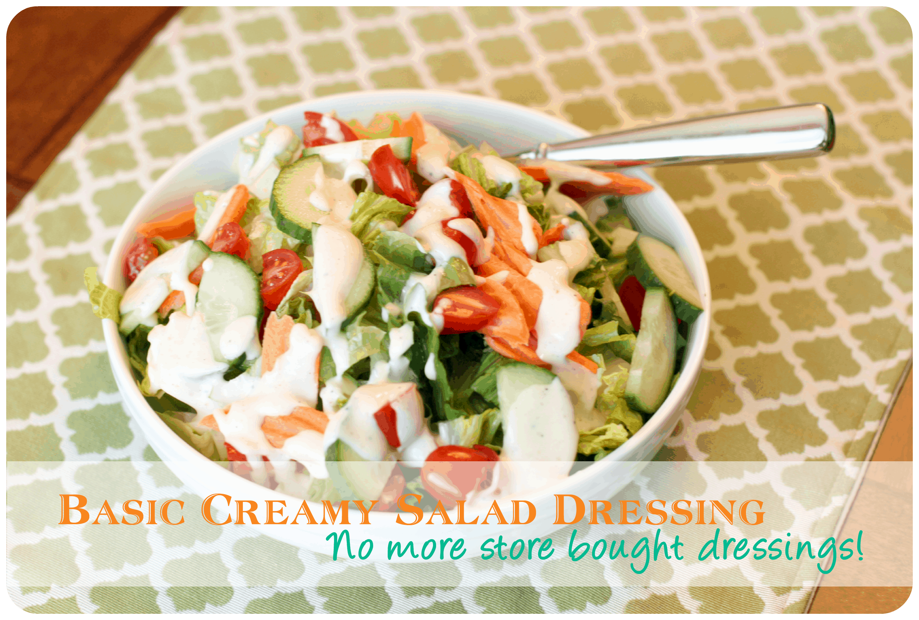 Easy Salad Dressing Recipes www.thepinningmama.com
