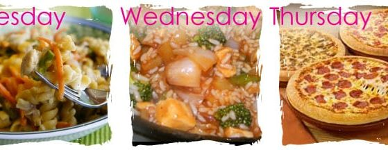 Weekly Meal Planning www.thepinningmama.com