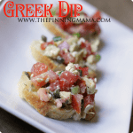 Light & Healthy Greek Dip
