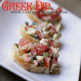 Light & Healthy Greek Dip