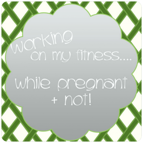 Working out while pregnant www.thepinningmama.com