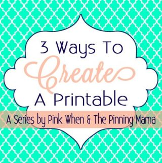 How To Make A Printable