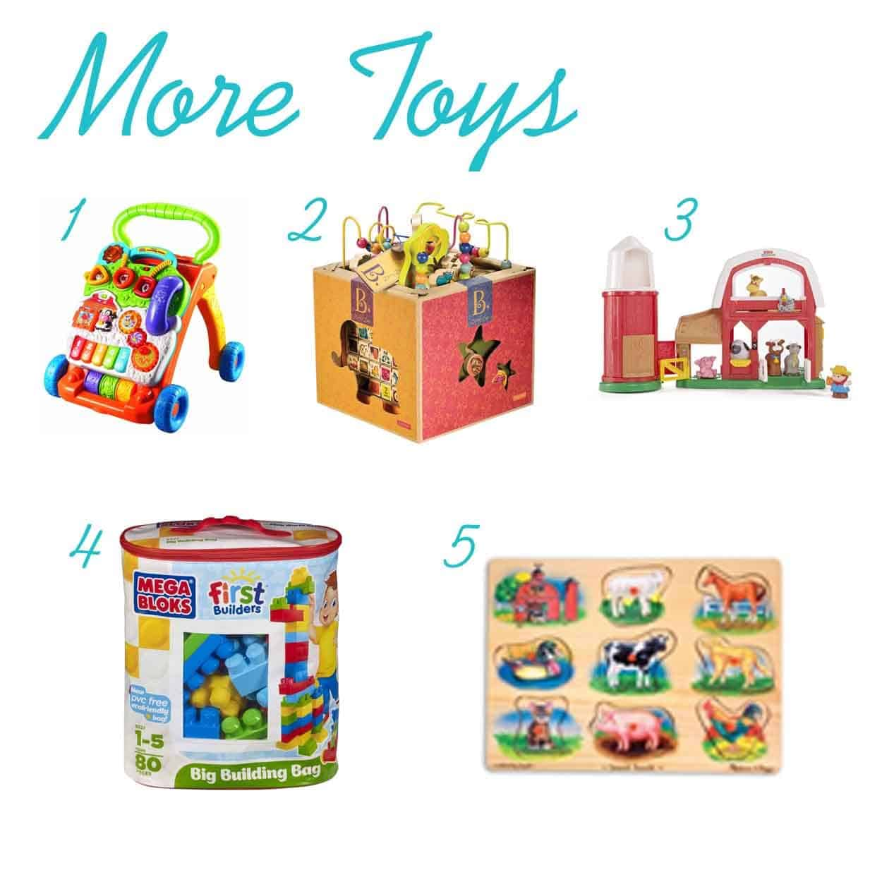 The Ultimate List Of Gift Ideas For One Year Olds Thepinningmama More Toys