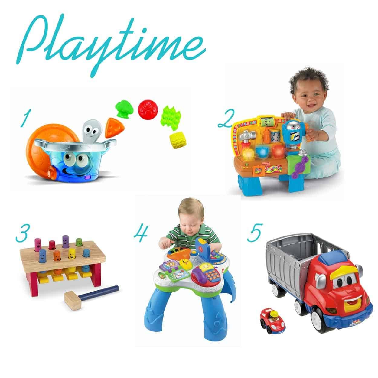 Play Time Gifts For One Year Old Thepinningmama