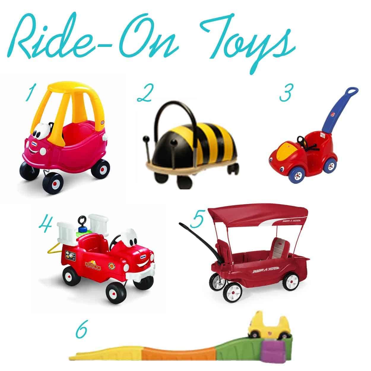 Gift Ideas For One Year Olds Thepinningmama Ride On Toys