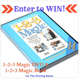 {Giveaway} 1-2-3 Magic DVD & Book / Managing Difficult Behavior in Children