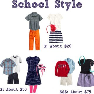 Back to School Looks for Every Budget and Essentials for Every School Wardrobe
