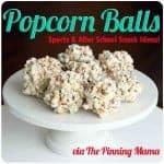 popcorn balls plate www.thepinningmama.com
