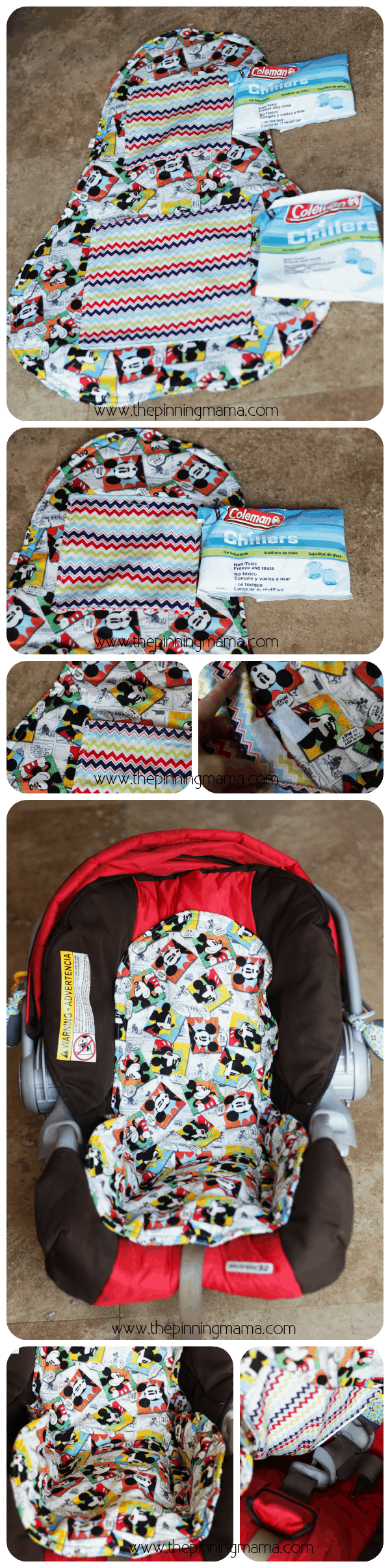 Babybug Creations car seat cooler