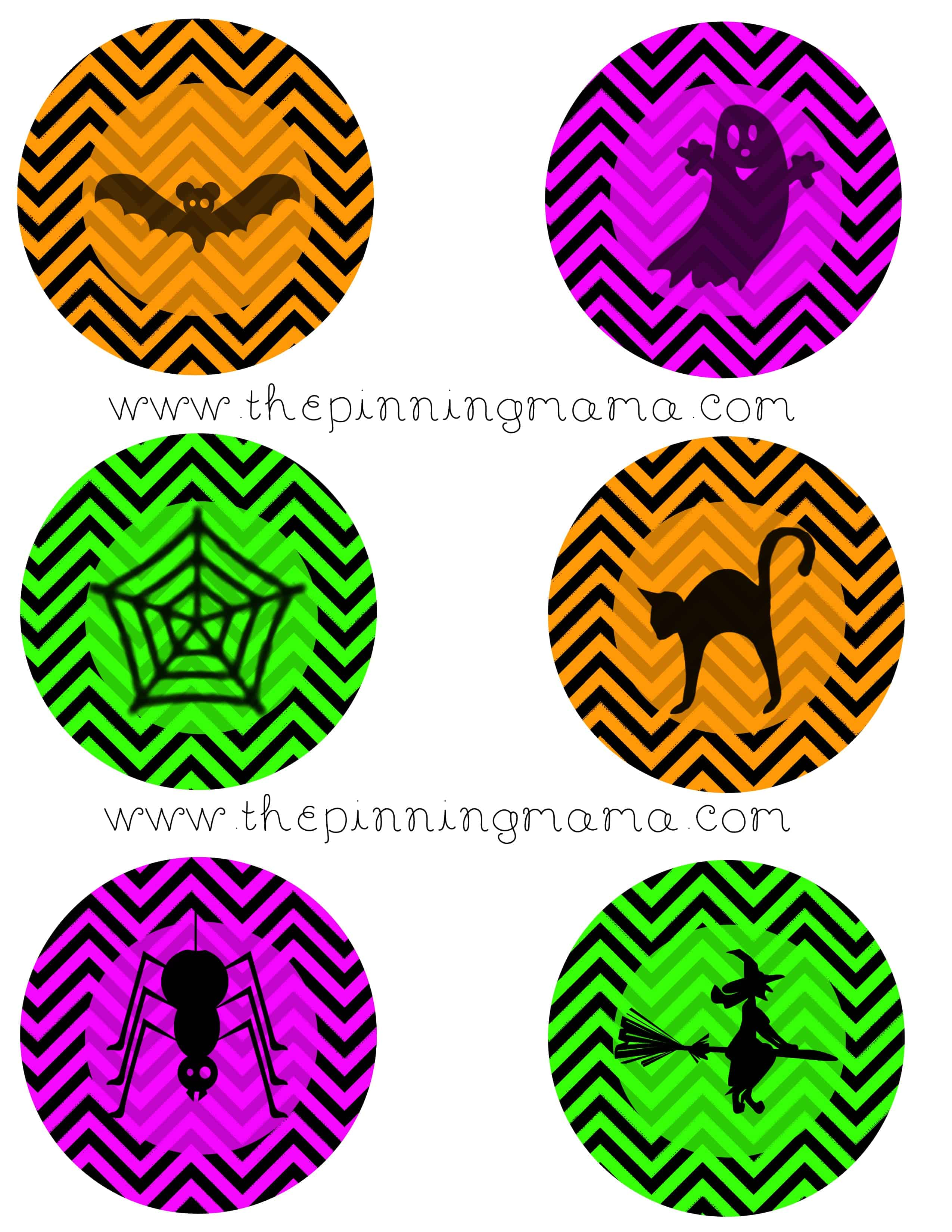 download your free halloween cupcake toppers here - Free Printables For Halloween