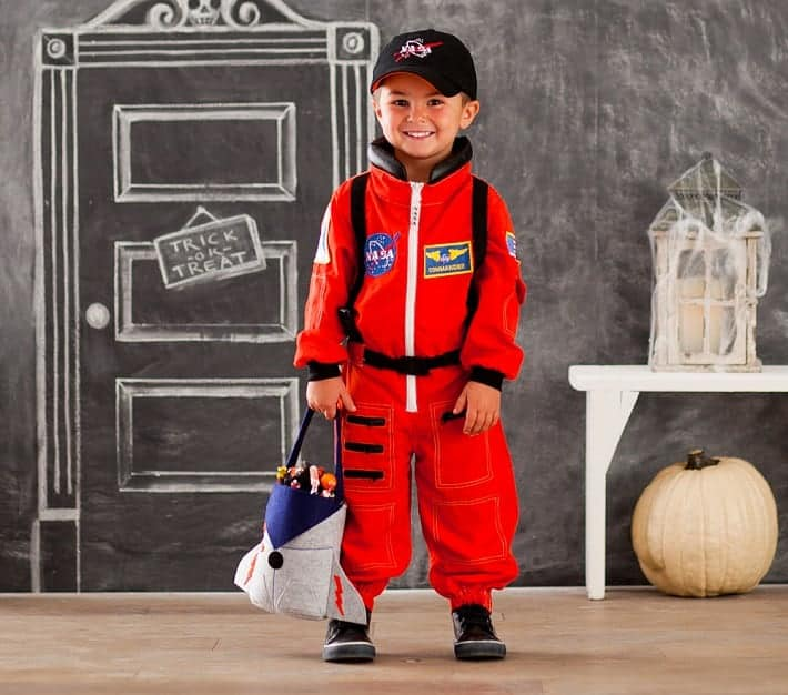 Pottery Barn Kids Astronaut Halloween Costume