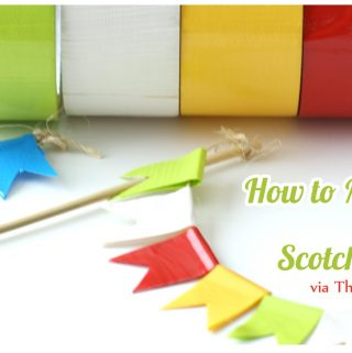 4 DIY Projects with Scotch Colors and Patterns Duct Tape