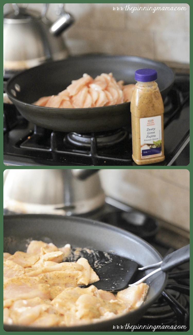 {Easy Family Dinners) Chicken Fajita Stuffed Baked Potato - click for recipe #shop