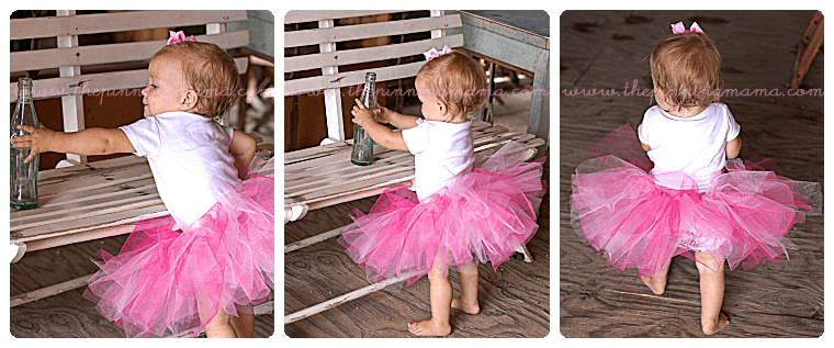 DIY No Sew Tutu For Little Girls O The Pinning Mama