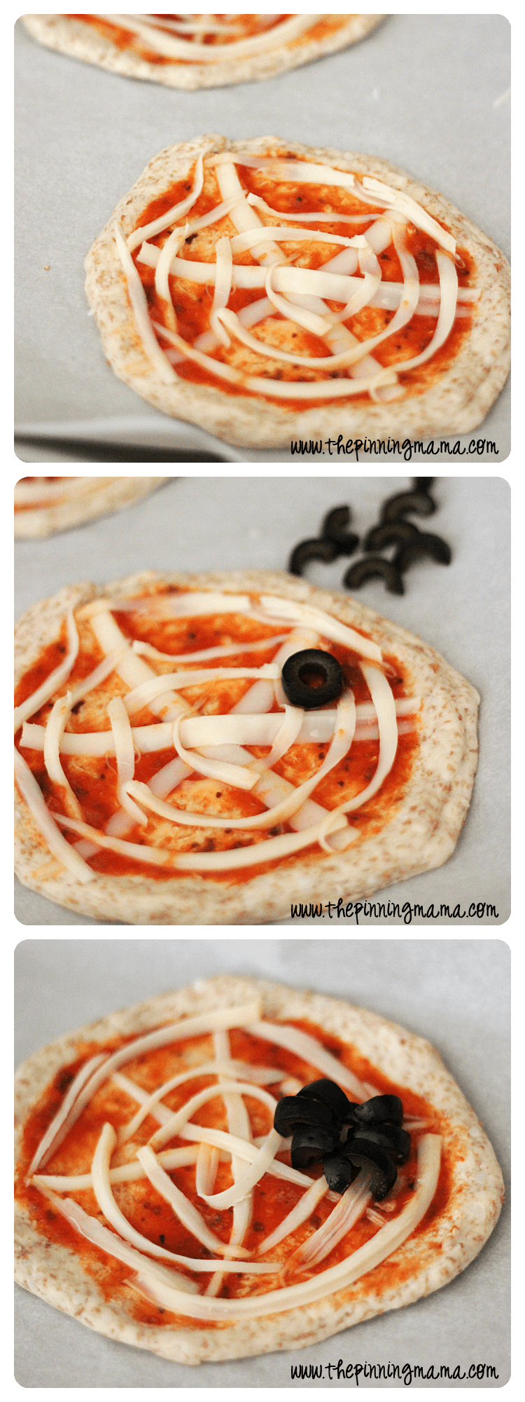 Easy Weeknight Dinner: Pillsbury Spider Shaped Pizza by www.thepinningmama.com