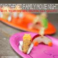 Car Themed Family Movie Night with Popcorn Chicken Car Snacks #shop #tyson2nite #cbias