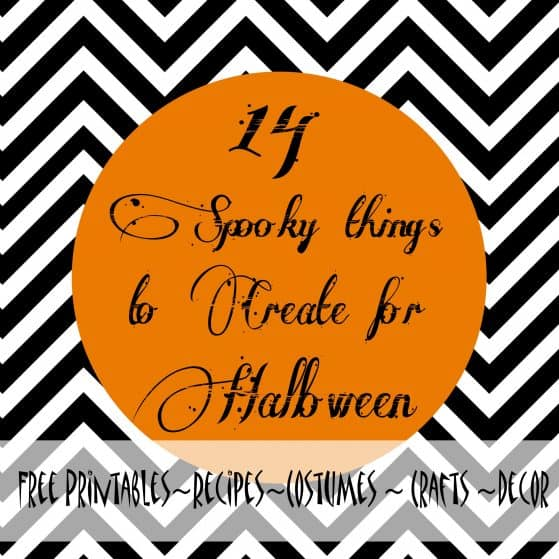 Halloween Crafts, recipes and free printables by www.thepinningmama.com