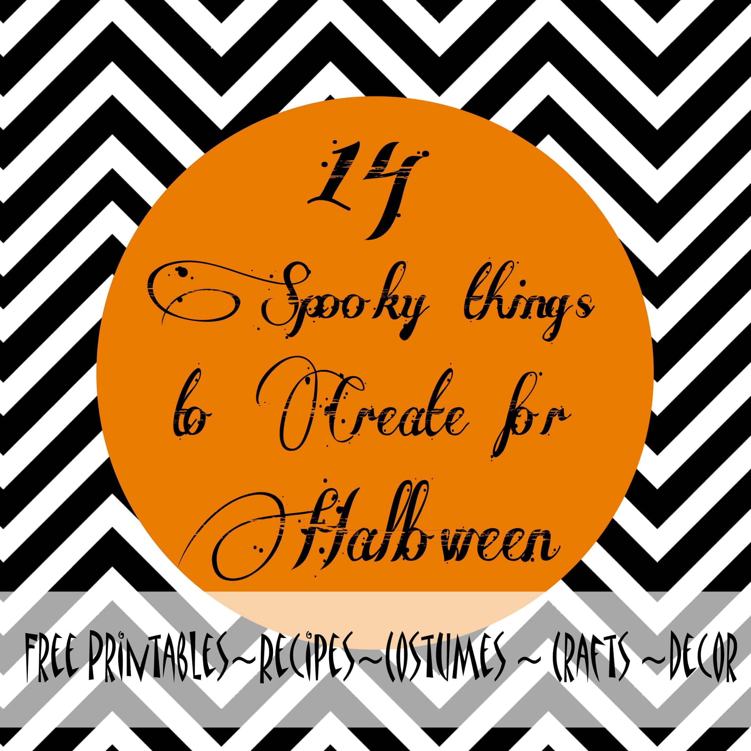 photograph about Free Printable Halloween Crafts identify 14 Spooky Elements in direction of Generate for Halloween! The Pinning Mama