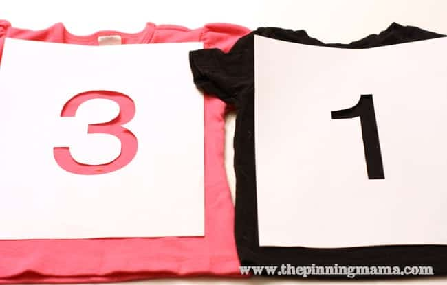 birthday shirt idea via the pinning mama
