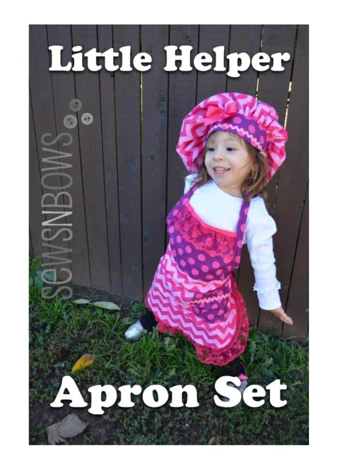 little apron helper set