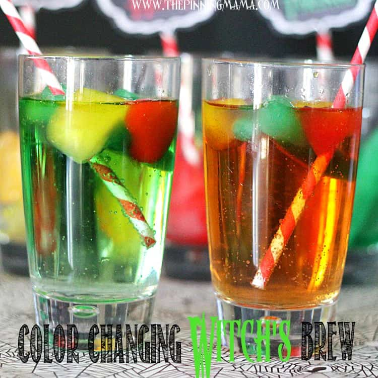 Easy halloween recipes witch s brew punch and monster for Easy alcoholic punch recipes for halloween