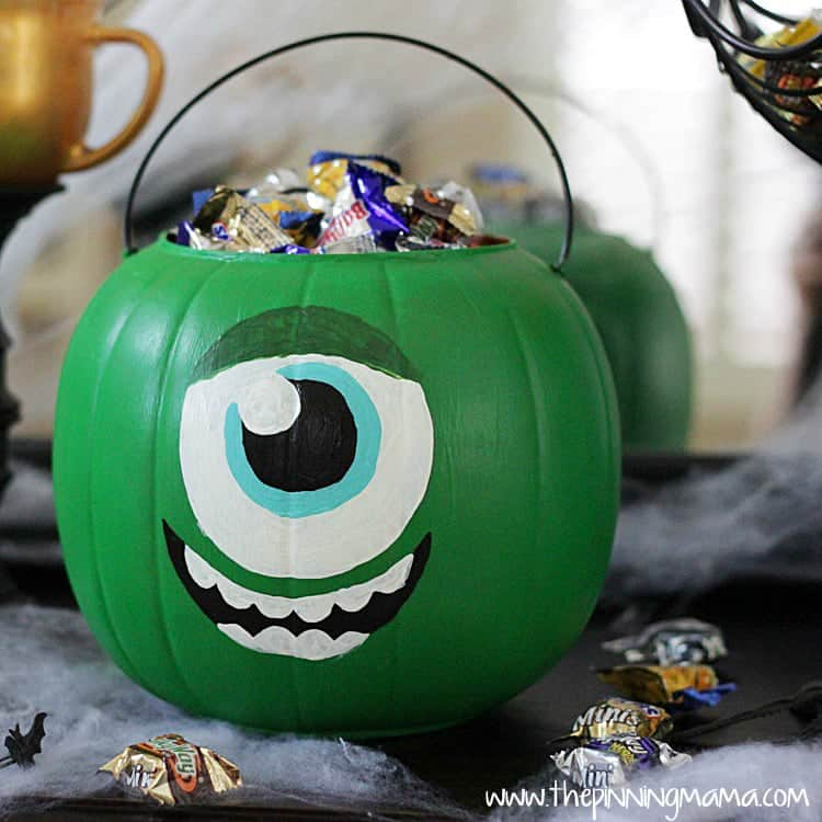 web Monsters University Trick or Treat Bucket 8