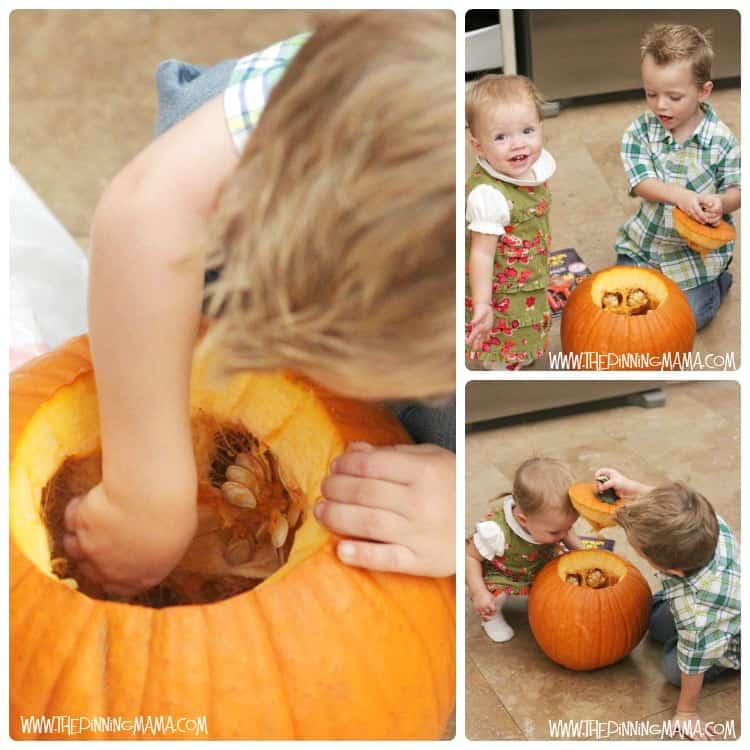 Pumpkin Carving + Paint with Pumpkin Master's to make a unique pumpkin
