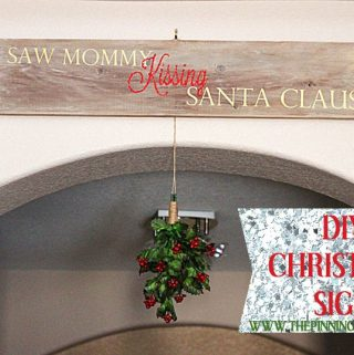 DIY Christmas Sign and A HUGE Black Friday Silhouette Discount Code and Promo!