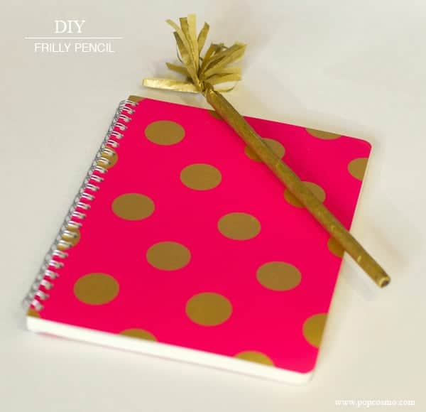 DIY-gold-pencil-notebook
